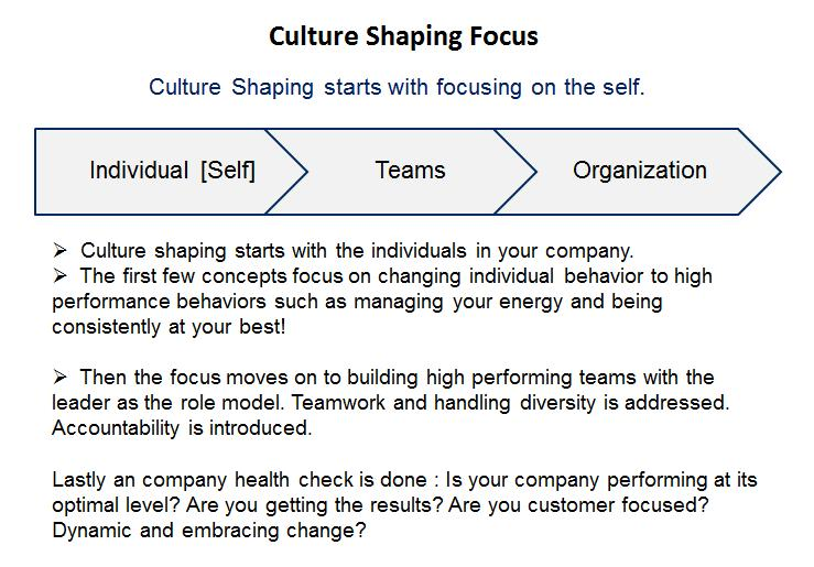 Culture Shaping 11